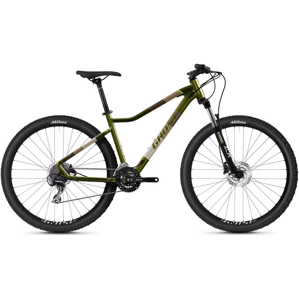 Ghost Mountainbike »Lanao Essential 27.5 AL W«, 24 Gang, Shimano, Acera 8-fach Schaltwerk, Kettenschaltung