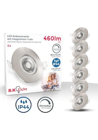 B.K.Licht LED Einbauleuchte, LED-Board, Warmweiß, LED Einbauspots dimmbar Badlampe... kaufen