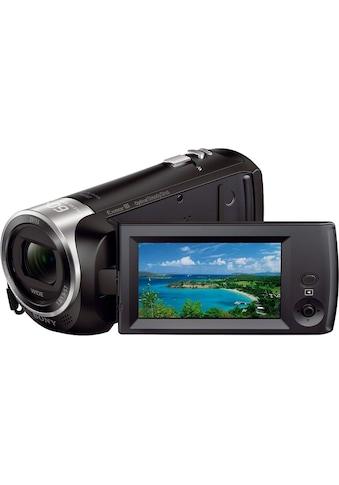 Sony Camcorder »HDR-CX405«, Full HD, 30x opt. Zoom, Leistungsfähiger BIONZ X Bildprozessor kaufen