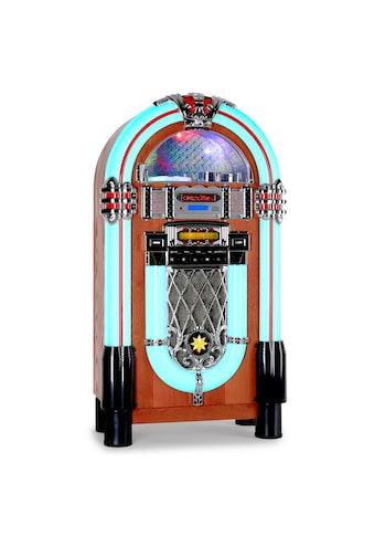 Auna American Retro Jukebox Musikbox CD-Player USB MP3 SD Radio »Graceland-XXL« kaufen
