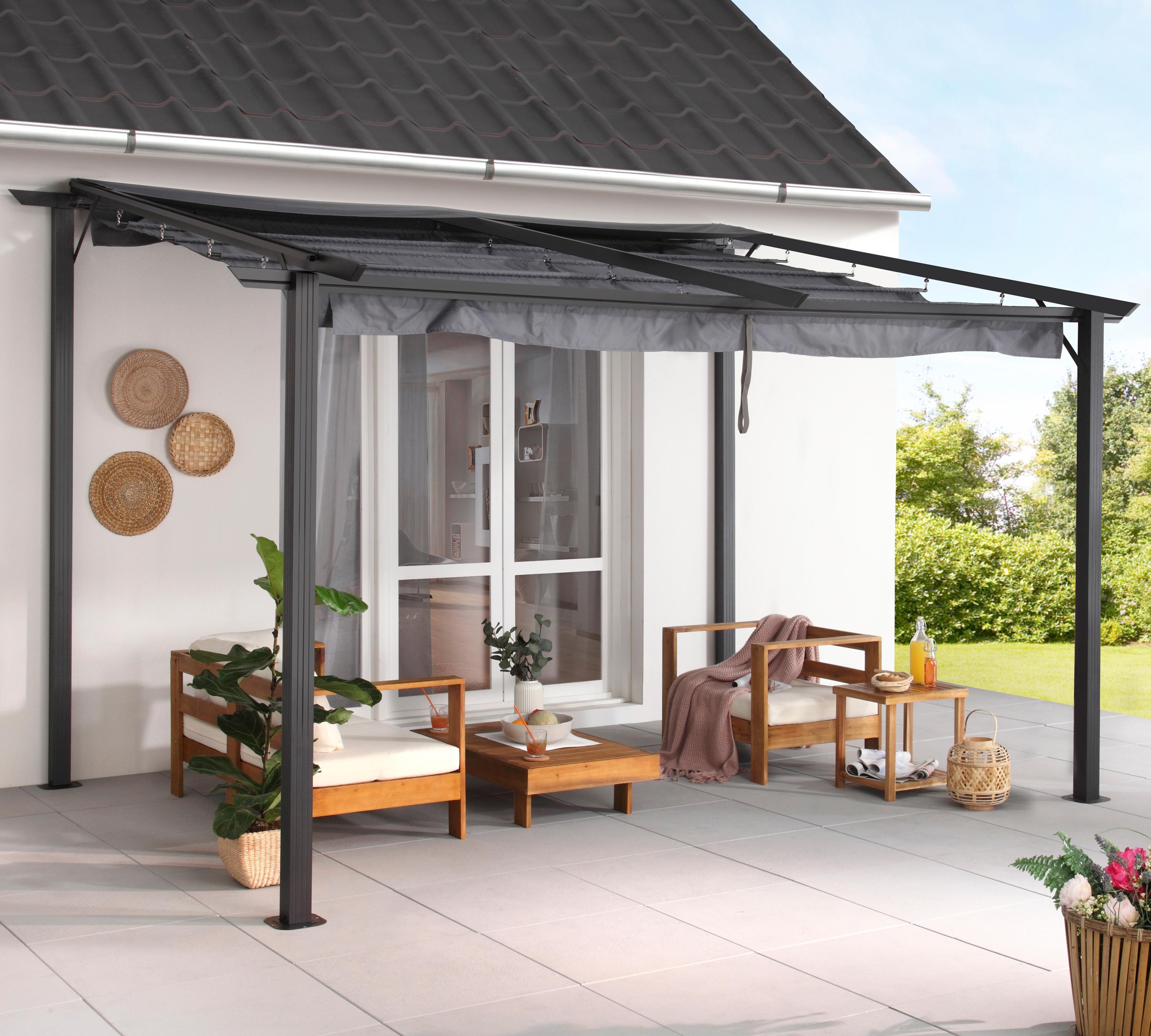 KONIFERA Anbaupavillon »Vivara«, BxT: 300x400 cm günstig online kaufen