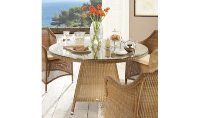 DESTINY Tisch »Sevilla«, Polyrattan, Ø 120 cm kaufen