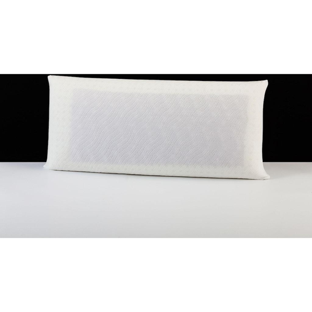 """Nackenstützkissen, »""""Memory Dream"""" Smartmassage Gel-Malve«, DI QUATTRO, Füllung: Viscoschaum und Viscoeinlage mit Malveextrakt, Bezug: 100% Baumwolle"""