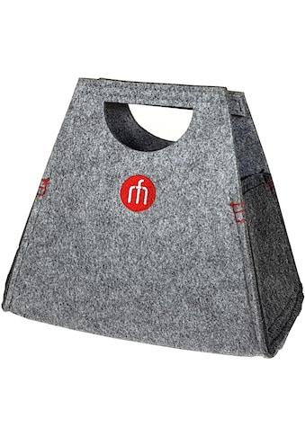Franz Müller Flechtwaren Einkaufsshopper »Filzwerk«, (1 tlg.), Höhe ca. 21 cm kaufen