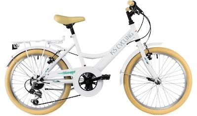 KS Cycling Jugendfahrrad »Toscana«, 6 Gang Shimano Tourney Schaltwerk, Kettenschaltung kaufen