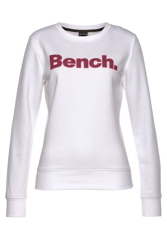Bench. Sweater »RAINA«, mit Kontrast-Logo Patch kaufen