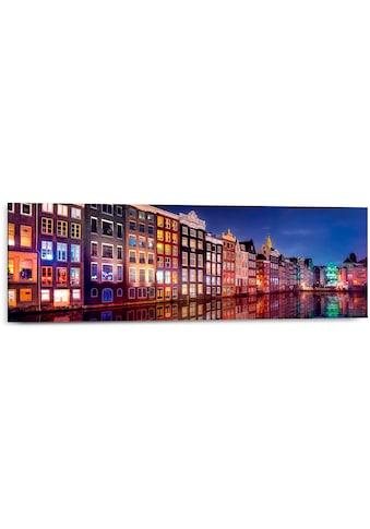 Holzbild »Canal Colours« kaufen