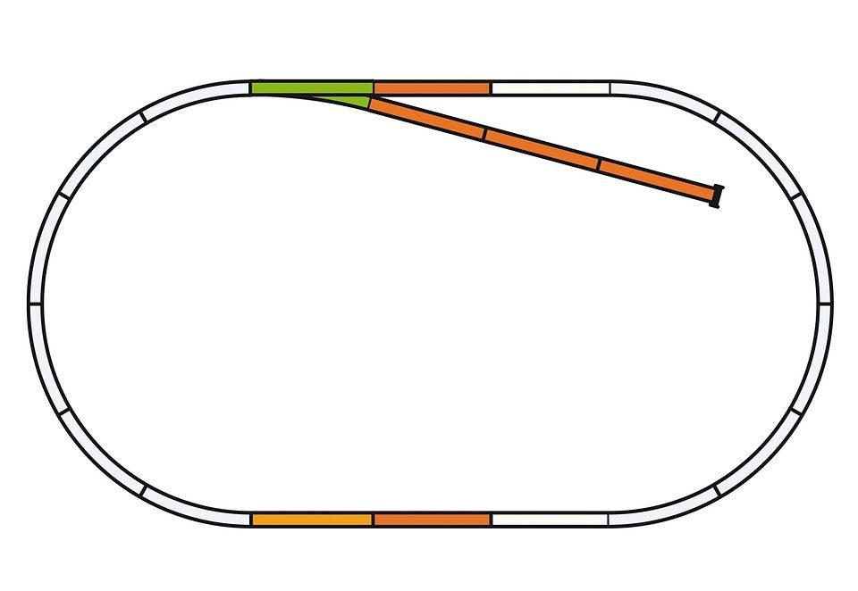 PIKO®, Gleise-Set B »55310«, Spur H0