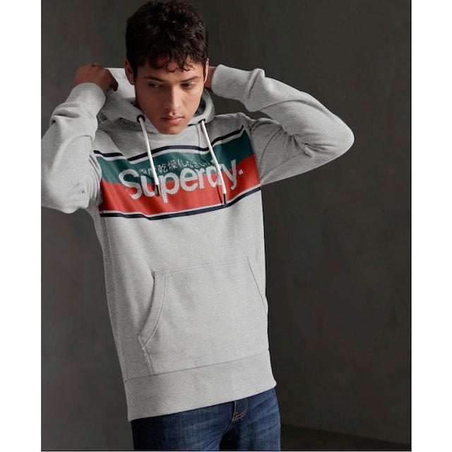 Superdry Kapuzensweatshirt »CORE STRIPE HOOD«