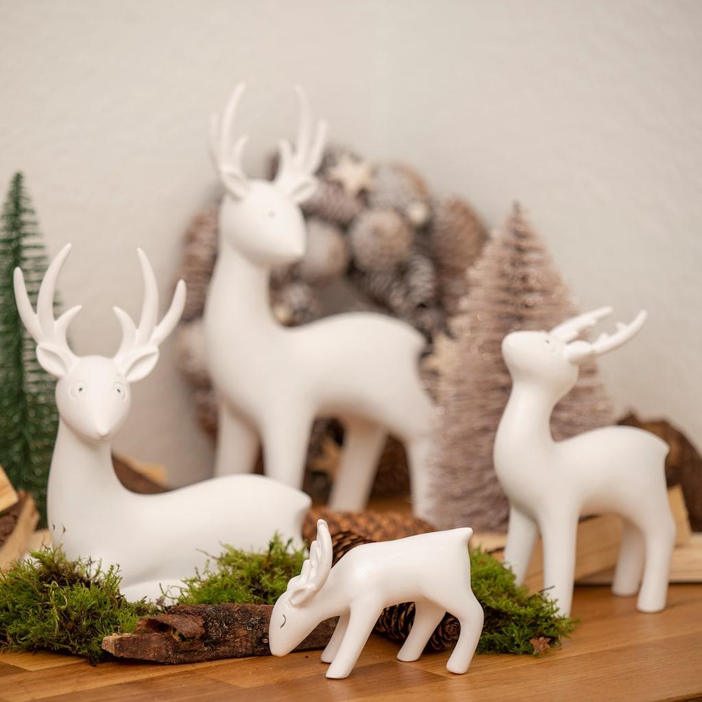 VALENTINO Wohnideen Tierfigur »Hirsch Junus« (Set, 1 Stück)