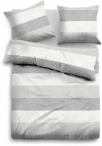TOM TAILOR Bettwäsche »Caro«, mit unterschiedlich breiten Streifen kaufen