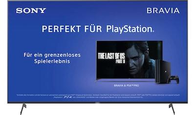 Sony KD65XH8096 Bravia LED - Fernseher (164 cm / (65 Zoll), 4K Ultra HD, Android TV kaufen
