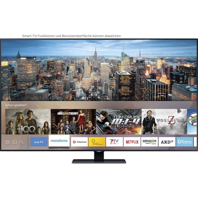 Samsung GQ75Q80T QLED-Fernseher (189 cm / (75 Zoll), 4K Ultra HD, Smart-TV