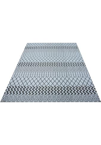 andas Teppich »Balin«, rechteckig, 9 mm Höhe, moderne Optik, Wohnzimmer kaufen