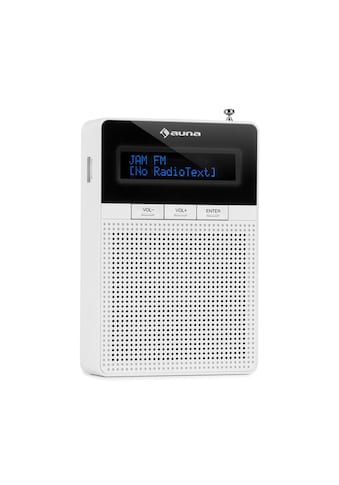 Auna Steckdosen-Radio, UKW/PLL, BT, LCD-Display, weiß »DigiPlug FM« kaufen