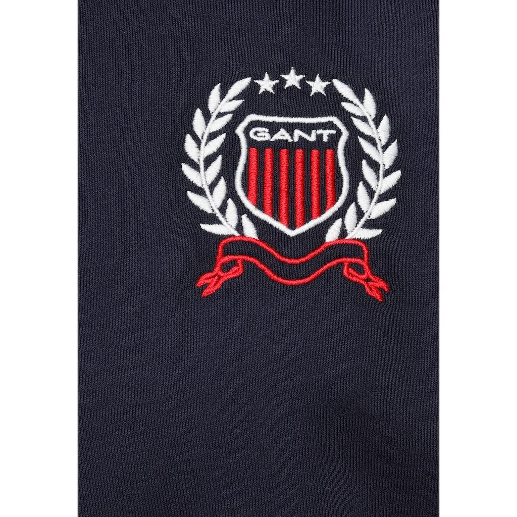 Gant Sweatshirt »GANT CREST C-NECK«
