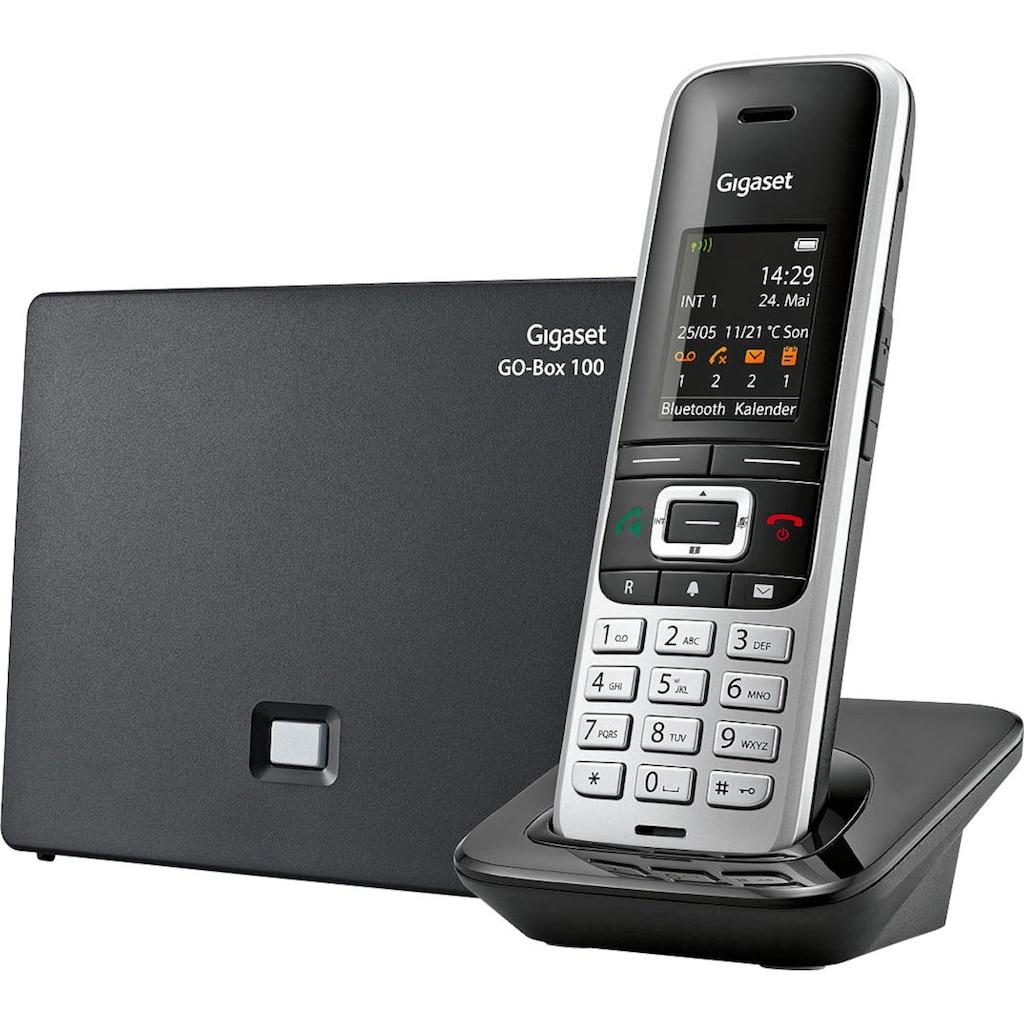 Gigaset Schnurloses DECT-Telefon »S850 A«, (Mobilteile: 1 Bluetooth), Anrufbeantworter, Weckfunktion, Freisprechen