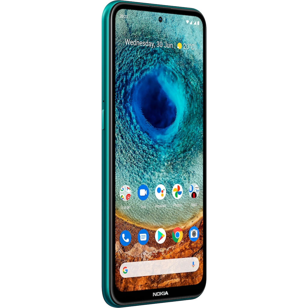 "Nokia Smartphone »X10,4+128 GB, Dual SIM«, (16,94 cm/6,67 "", 128 GB Speicherplatz, 48 MP Kamera)"