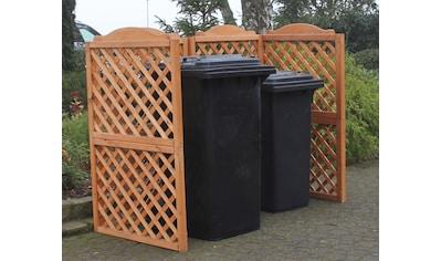 promadino Mülltonnenbox »Rex«, Abtrennung, für 2 x 240 l kaufen