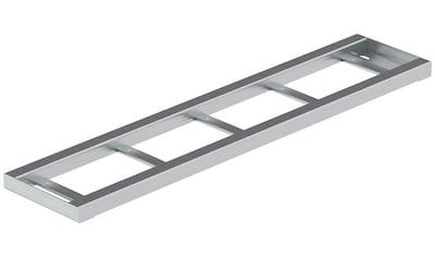 DOLLE Metallstufe »Gardentop«, zum Einlegen von Holz oder WPC, BxTxH: 100x22x3 cm kaufen