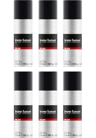 Bruno Banani Deo-Spray »Pure Man«, (Set, 6 tlg.) kaufen