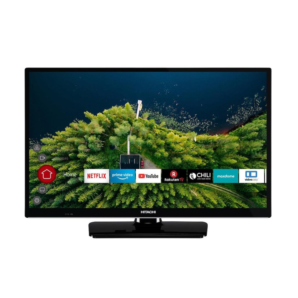 Hitachi H24E2000 LED-Fernseher (61 cm / (24 Zoll), HD ready, Smart-TV