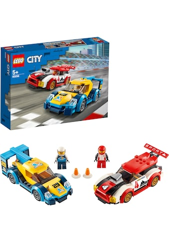 LEGO® Konstruktionsspielsteine »Rennwagen-Duell (60256), LEGO® City Nitro Wheels«,... kaufen