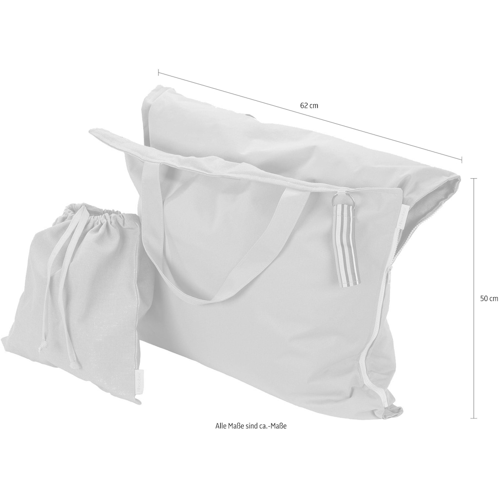 H.O.C.K. Strandtasche »Hhooboz L«, Maße ausgeklappt (BxL): 62/150 cm, Schonwäsche bei 30°