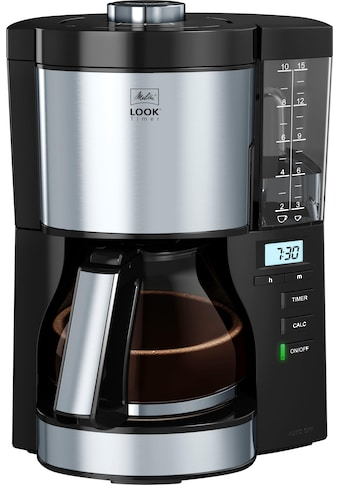 Melitta Filterkaffeemaschine »Look V Timer 1025-08 schwarz«, Papierfilter, 1x4 kaufen