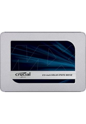 "Crucial SSD »Crucial MX500 1TB 3D NAND SATA 2.5"" 7mm (mit 9.5mm Adapter)« kaufen"