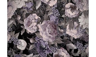 CONSALNET Vliestapete »Muster / helle Blumen«, in verschiedenen Größen kaufen