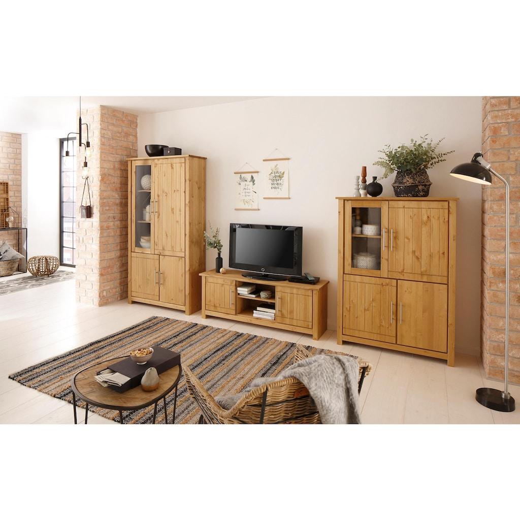 Home affaire Wohnwand »Norma«, (Set, 3 St.), aus massiver Kiefer