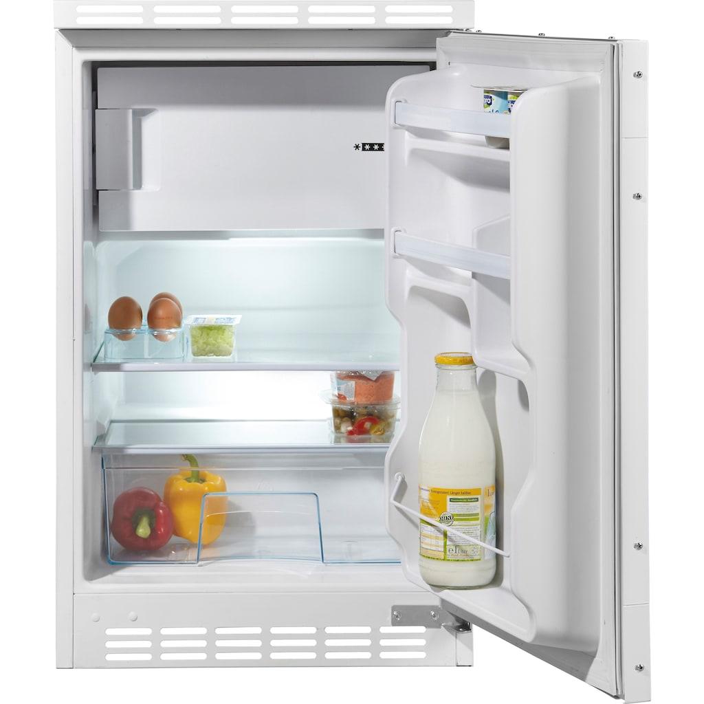 Amica Einbaukühlschrank, UKS 16147, 78,5 cm hoch, 49,5 cm breit