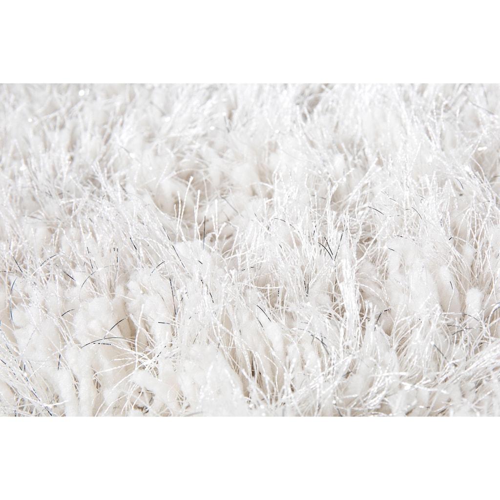 Hochflor-Teppich, »Levanto Deluxe«, LUXOR living, rund, Höhe 58 mm, maschinell getuftet