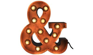 MARQUEE LIGHTS,LED Dekolicht»& - Zeichen«, kaufen