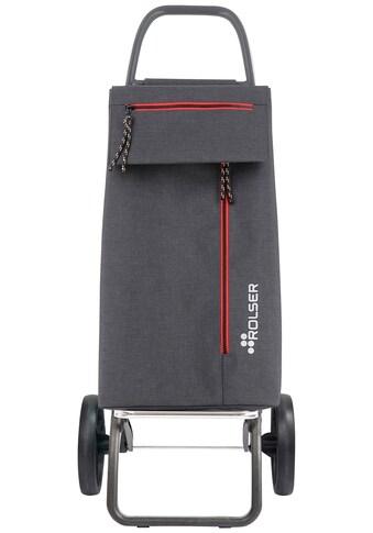Rolser Einkaufstrolley »2LRSG Wallaby Tweed«, (1 tlg.), Maße: 47x35x109 cm, mit extra... kaufen