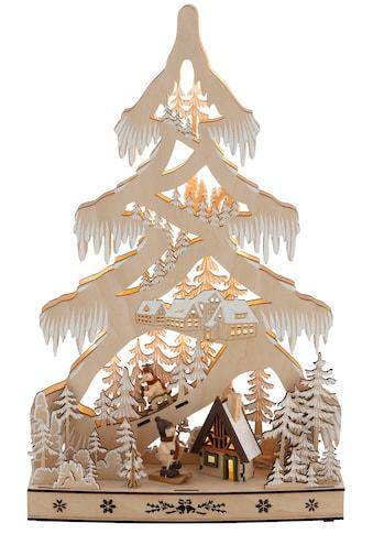 ,LED Baum»Schneelandschaft«, kaufen