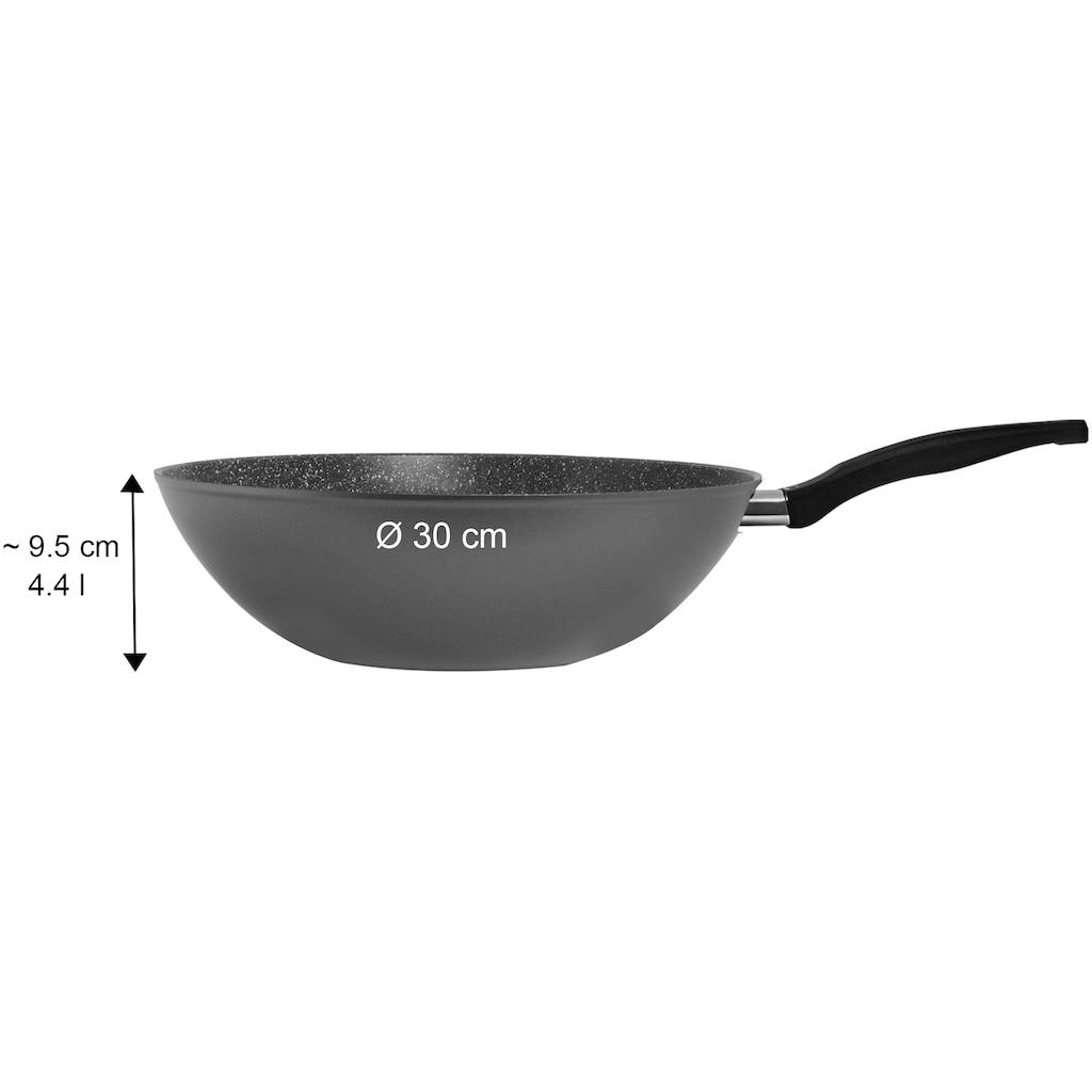 STONELINE Wok, Aluminium, (1 tlg.), Ø 30 cm, Induktion