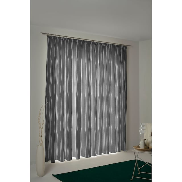 Vorhang, »Dallas«, my home Selection, Kräuselband 1 Stück
