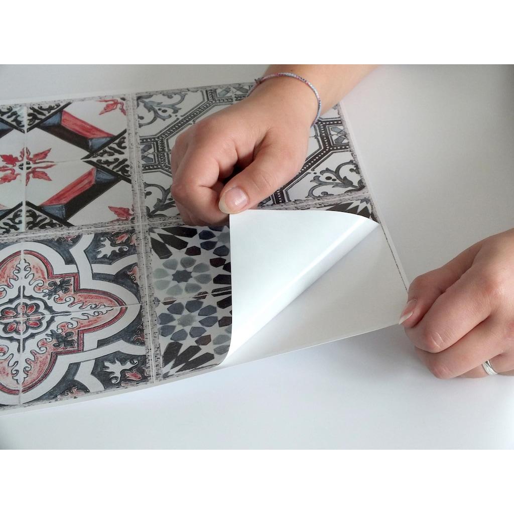 Fliesenaufkleber (Set, 12 Stück)
