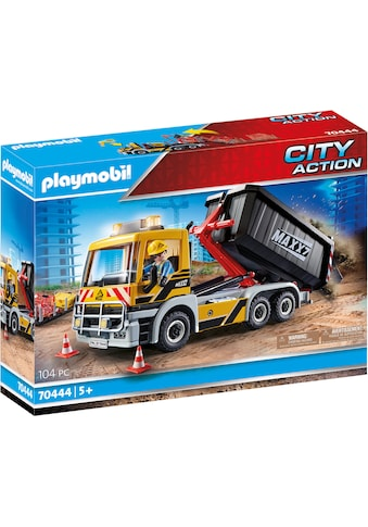 """Playmobil® Konstruktions - Spielset """"LKW mit Wechselaufbau (70444), City Action"""" kaufen"""