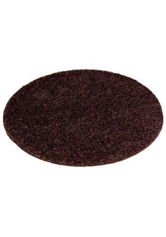 Hochflor - Teppich, »Amarillo«, Living Line, rund, Höhe 35 mm, maschinell getuftet kaufen