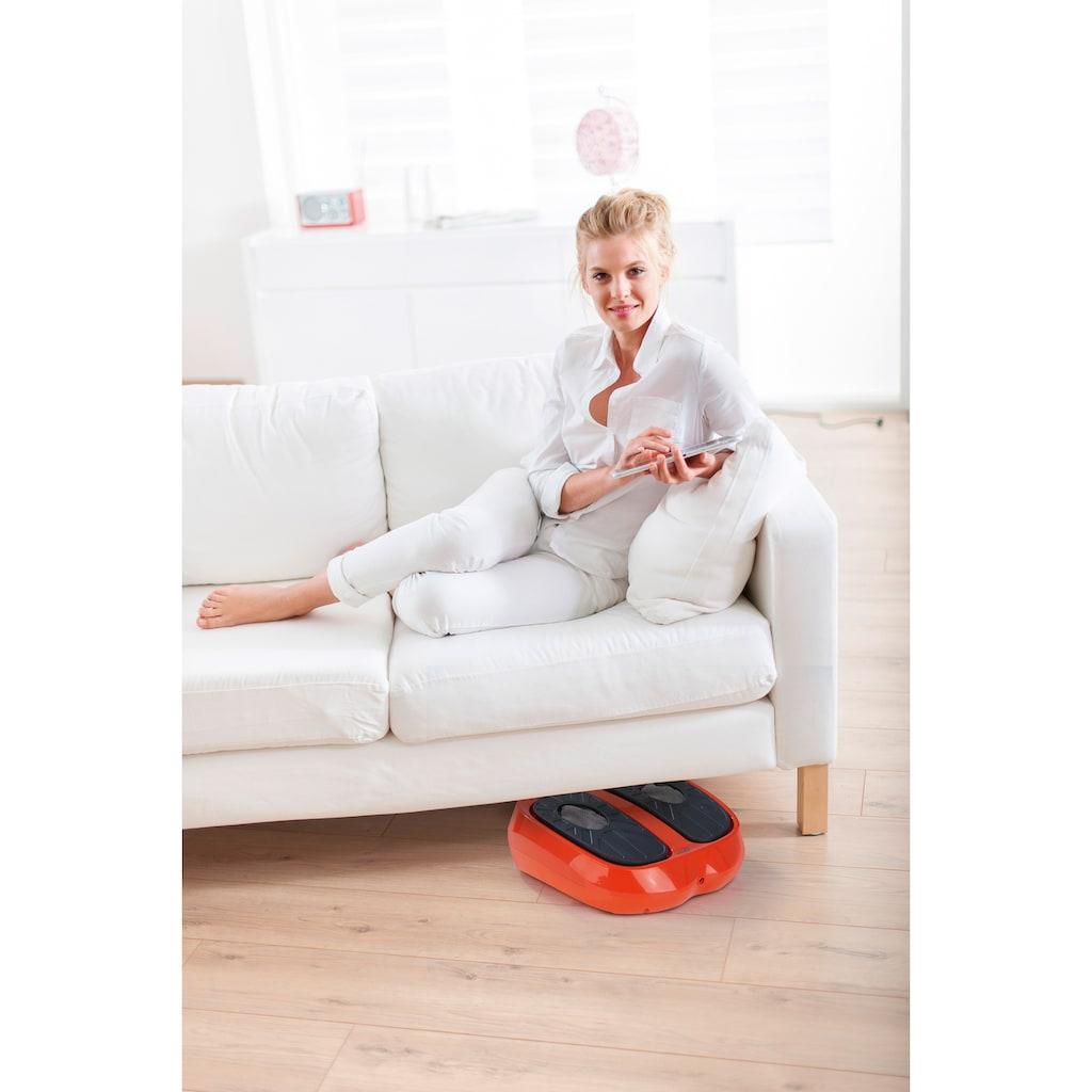 MAXXMEE Vibrationsplatte »MAXXMEE Vibrationsgerät Training & Massage 24V«, 30 W, 15 Intensitätsstufen, (3 tlg.)
