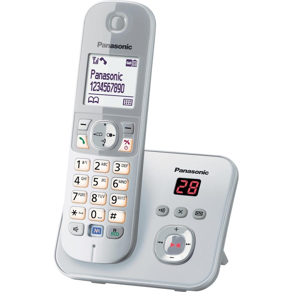 Panasonic Schnurloses DECT-Telefon »KX-TG6821G«, (Mobilteile: 1 ), mit Anrufbeantworter