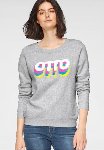 OTTO Sweater »Otto Logo«, aus Bio-Baumwolle mit LOGO-Print kaufen