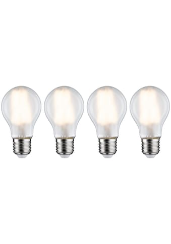 Paulmann LED-Filament »4er Pack 7W E27 2700K matt«, E27, 4 St., Warmweiß kaufen
