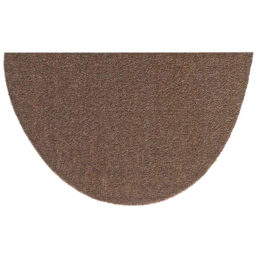 HANSE Home Fußmatte »Deko Soft«, halbrund, 7 mm Höhe, Schmutzfangmatte, saugfähig, waschbar