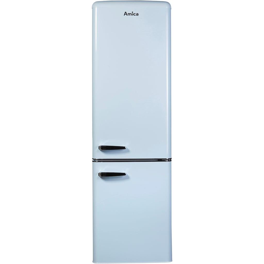 Amica Kühl-/Gefrierkombination, KGCR 387 100L, 181 cm hoch, 55 cm breit