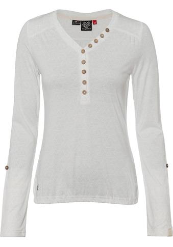 Ragwear Langarmshirt »PINCH«, mit Allover-Druck kaufen