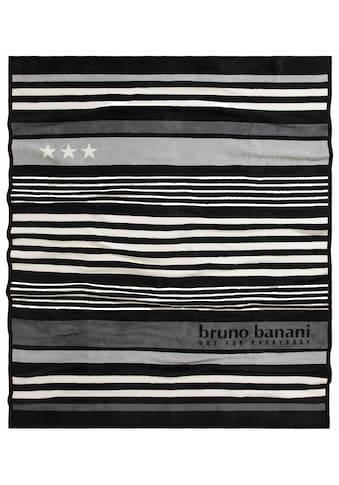Bruno Banani Wohndecke »Brian«, mit kleinen Akzenten kaufen